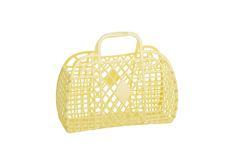 SS18 Collection / jelly Basket_Small_yellow