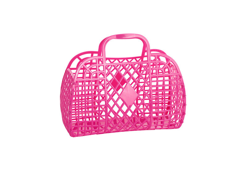 SS18 Collection / jelly Basket_Small_hot pink