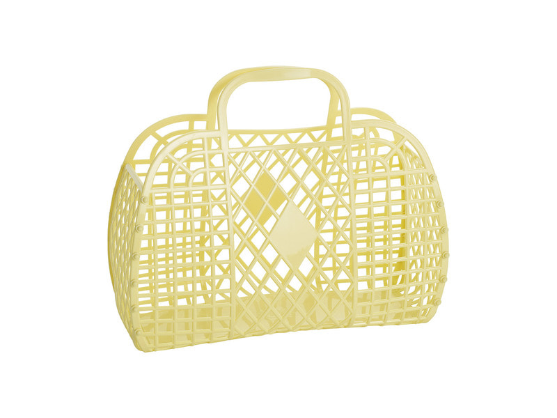 SS18 Collection / Jelly Basket_Large_yellow