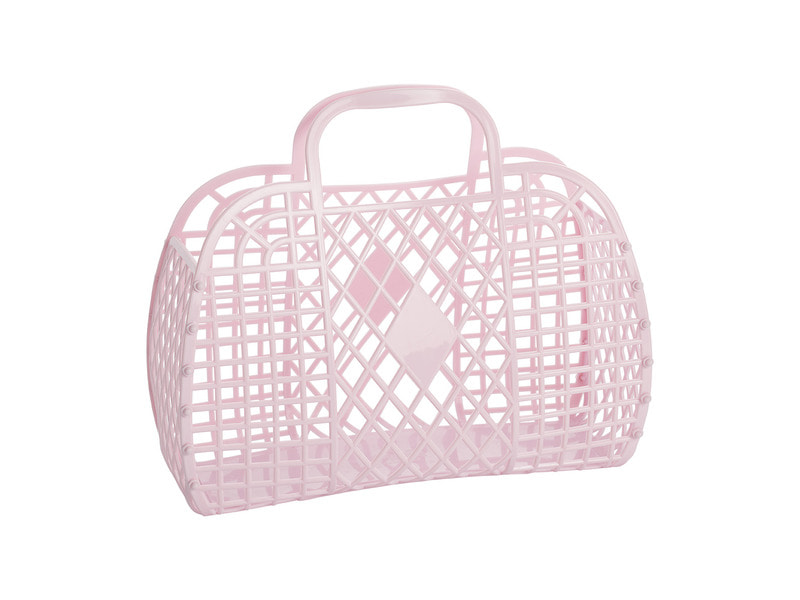 SS18 Collection / Jelly Basket_Large_light pink