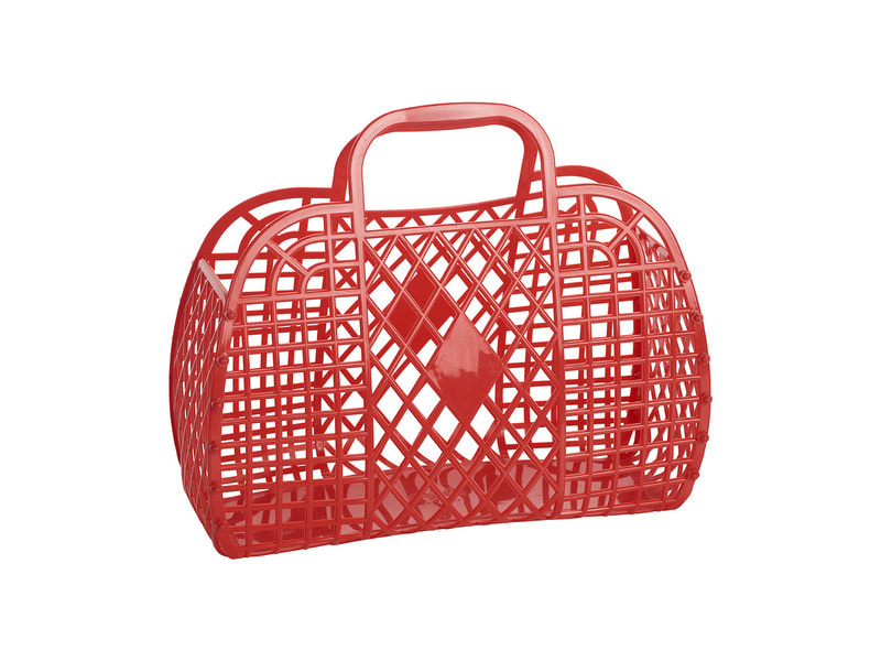 SS18 Collection / Jelly Basket_Large_red